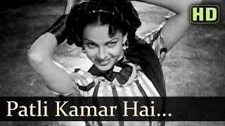 Patli Kamar Hai - Premnath - Cuckoo - Barsaat - Lata Mangeshkar & Mukesh Duets