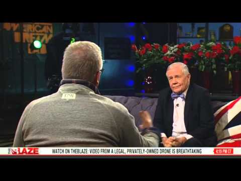 Jim Rogers author of &quot;Street Smarts&quot; sits down w Glenn Beck on The Blaze TV re. American Economics