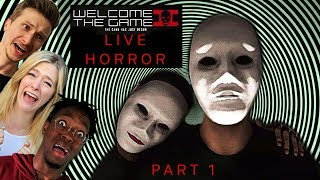 """Scared Buddies Tried The Most Complicated Horror Game """"Welcome To The Game 2"""""""