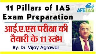 11 Pillars of IAS preparation by Dr. Vijay Agrawal   AFE IAS   IAS Coaching