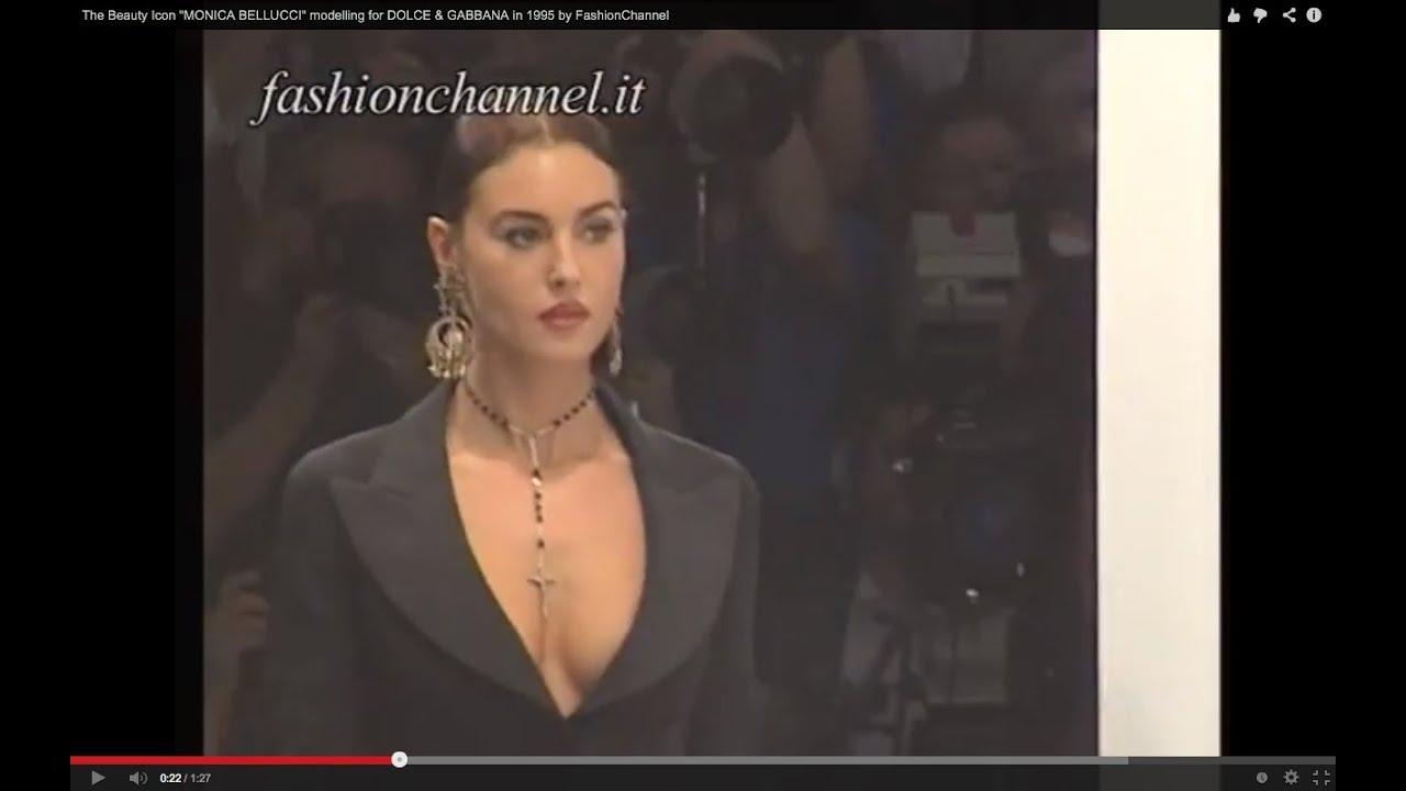 "The Beauty Icon ""MONICA BELLUCCI"" modelling for DOLCE ... Monica Bellucci Instagram"