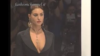"The Beauty Icon ""MONICA BELLUCCI"" modelling for DOLCE & GABBANA in 1995 by FashionChannel"