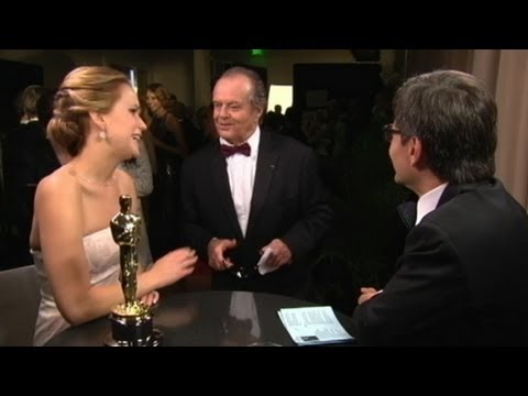 Jennifer Lawrence, Jack Nicholson Oscar Moment Creates Waves, Star Discusses Oscar Win: What's Next?