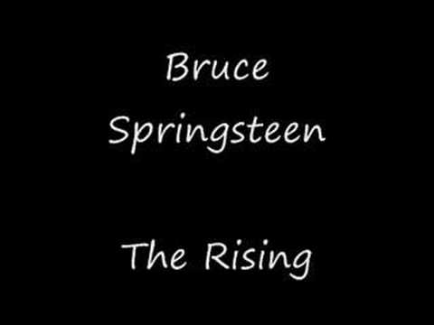 The Rising - Bruce Springsteen (High Quality + Lyrics)