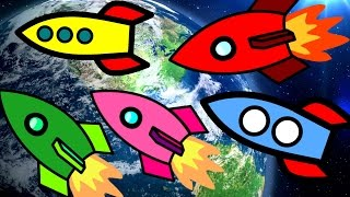 Finger Family ROCKET Song | Rockets| Spaceship| Nursery Rhyme| Kids Song| Daddy Finger