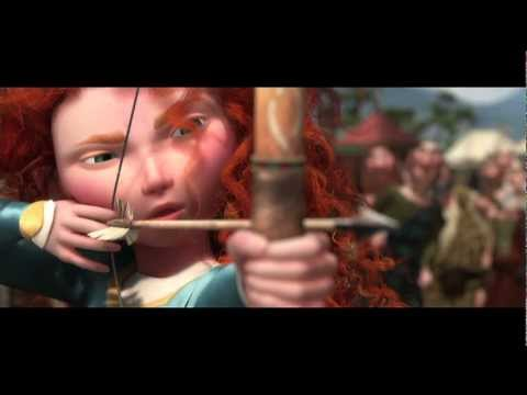 Brave trailer - Disney Pixar - Only at the Movies J