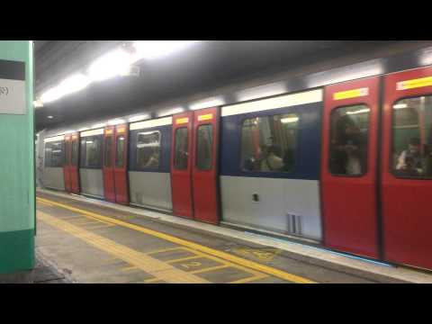 New Train Depart Announcement at MTR Mong Kok East Station