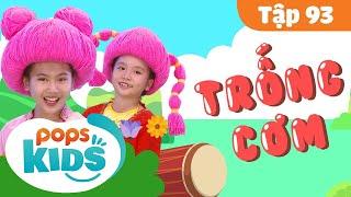 Mầm Chồi Lá Tập 93 - Trống Cơm | Nhạc thiếu nhi remix | Vietnamese Kids Song