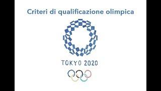ROAD TO TOKYO2020 - Criteri di qualificazione