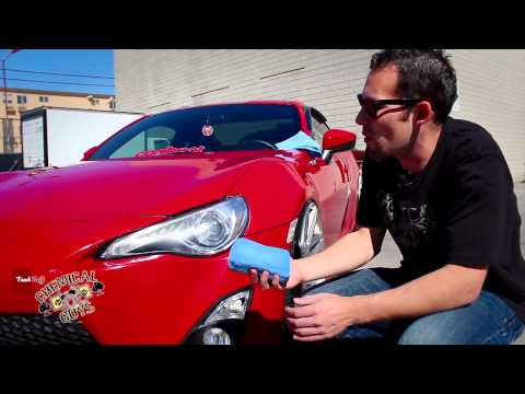 How To: Protect Headlights - Chemical Guys M-Seal - Scion FRS Care Care Epic Shine