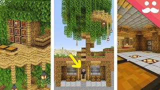 I Made the Best Treehouse in Minecraft