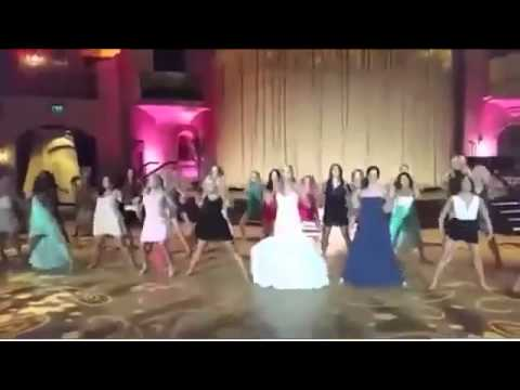 Indianapolis Colts cheer squad stage epic wedding dance Daily Mail Online....