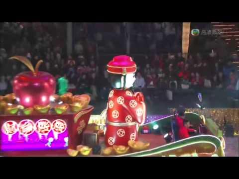 CNY Night Parade 2015 The Pegasus Vanguard X Hang Seng Bank