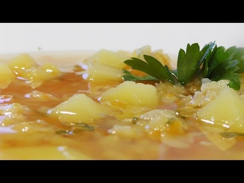 Суп гороховый постный видео рецепт. Великий Пост.
