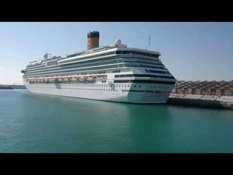 MV COSTA SERENA & COSTA RIVIERA on MINA ZAYED