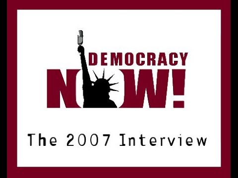 General Wesley Clark speaks to Democracy Now! (March 2, 2007)