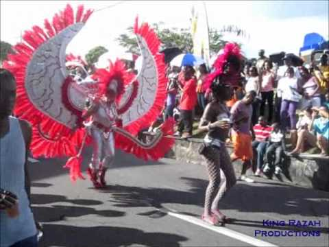 St. Kitts-Nevis National Carnival Parade Day 2012