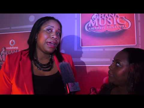 Uche Ofodile - talks about Vodafone Ghana Music Awards 2013