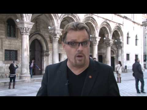 Eddie Izzard in Croatia