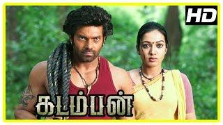 Kadamban Tamil Movie | Arya captures Elephant Tusk stealers | Catherine Tresa | Yuvan Shankar Raja
