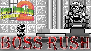 Super Mario Land 2: Six Golden Coins - Boss Rush (No Damage, No Power-Ups)