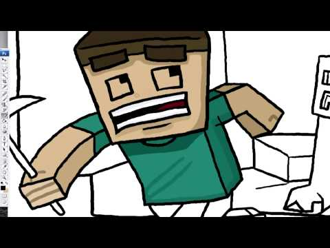 Chew Minecraft Designs – CaptainSparklez: Revenge parody (1)
