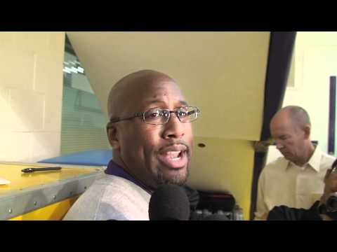 Lakers Coach Mike Brown on losing Derek Fisher