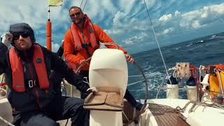 Rob Oliver Nick & Lyon Trafalgar sailing winter 2018