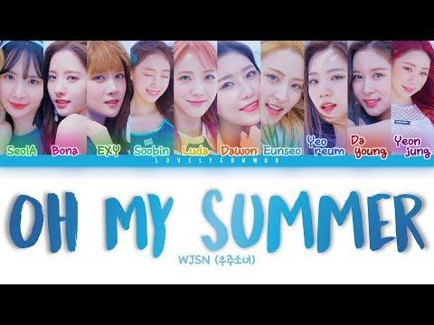 Download WJSN 우주소녀 – Oh My Summer 눈부셔 s Color Coded Han/Rom/Eng Mp4 baru