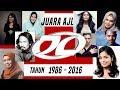 Senarai Pemenang Anugerah Juara Lagu AJL 1986 - 2016