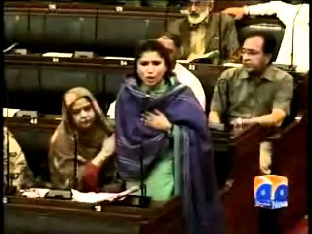 Geo Reports Shazia Marri And Marvi Rashdi Argue- 06 Mar 2012