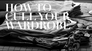 How to cull your wardrobe | Professional Babe