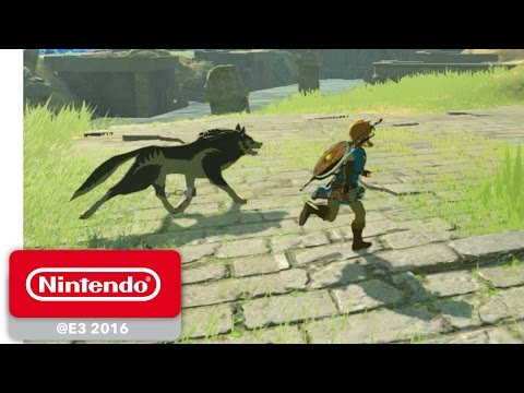 The Legend of Zelda: Breath of the Wild - amiibo Gameplay - Nintendo E3 2016