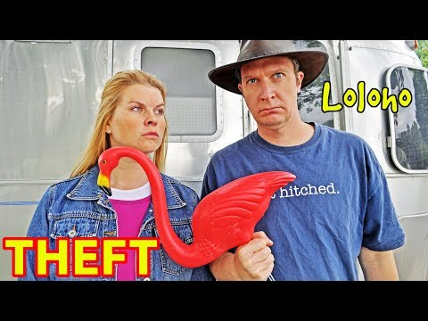 """THEFT & RV CAMPING -- """"Will other campers steal my stuff?!"""" (Someone stole Kristy's! 😩)"""
