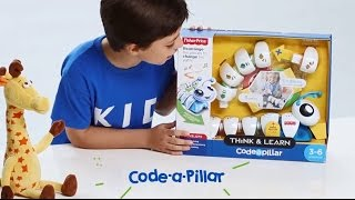 Kids Unboxing Toys | Fisher-Price Think and Learn Code-a-Pillar