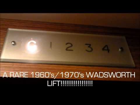 Lift at the Savoy Hotel and the Lift at Avondale House (1080p)