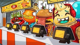 Fortnite Fast Food Mascot Challenge!