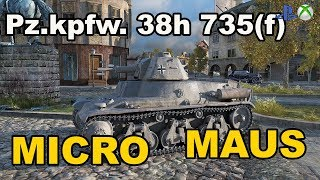 Pz.Kpfw. 38H 735 (f) Micro Maus Świetny trener World of Tanks Xbox One/Ps4