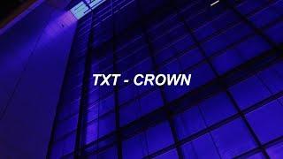 Download Lagu TXT (투모로우바이투게더) '어느날 머리에서 뿔이 자랐다 (CROWN)' Easy Lyrics</b> Mp3