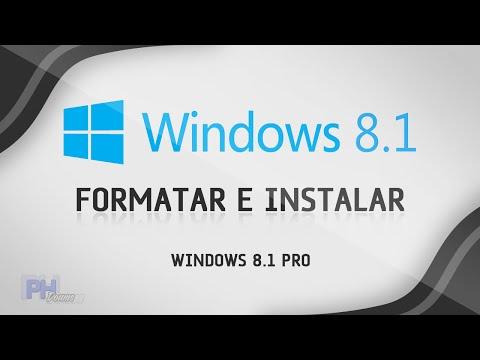 Como formatar o computador e instalar Windows 8.1 PRO - Aula Completa