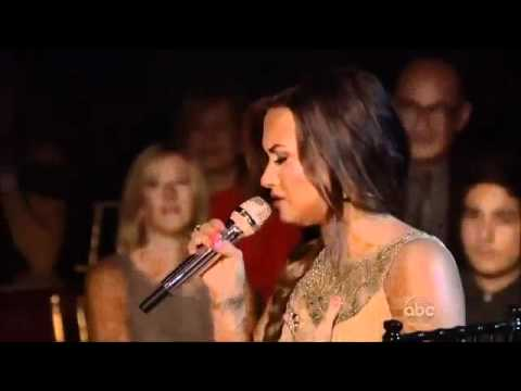 Demi Lovato - Skyscraper on Dancing With The Stars Music Videos