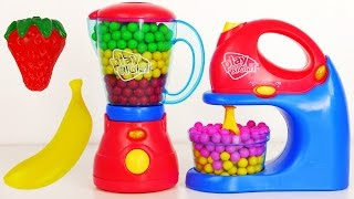 Mixer and Blender Play Right Kitchen Appliance Playset Toys for Kids