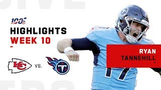 Ryan Tannehill Leads Titans for the Big W! | NFL 2019 Highlights
