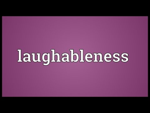 Header of laughableness