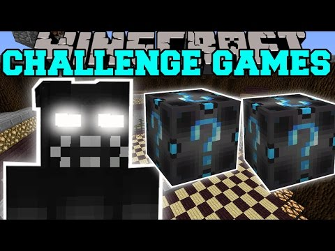 Minecraft: SHADOW BONNIE CHALLENGE GAMES - Lucky Block Mod - Modded Mini-Game