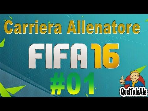 Fifa 16 - PS4 Gameplay ITA - Allenatore #01 - Si parte con la carriera