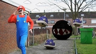 Real life Video Games - Super Mario The Koopa Chase