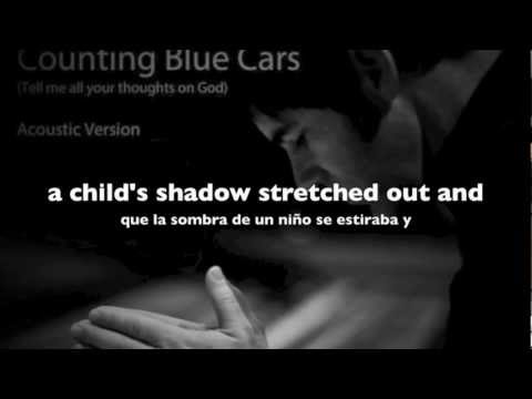 J.R. Richards - Counting Blue Cars (Acoustic version)