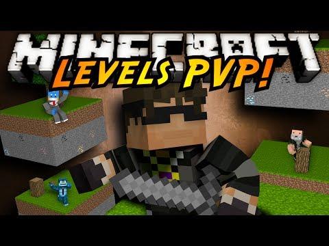 Minecraft Mini-Game : LEVELS PVP!