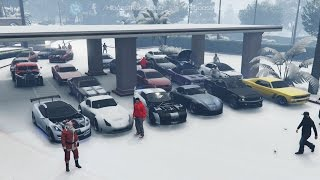 Grand Theft Auto V Online (XB1) | Street Car Meet Pt.10 | Tampa Build, Drifting, Drags & More